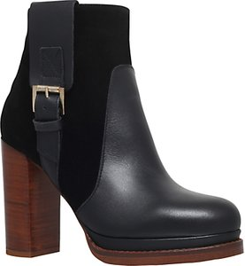Read more about Kg by kurt geiger sibling block heeled ankle boots black