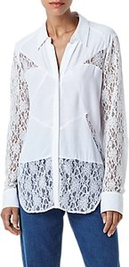 Read more about Finery finsbury lace blouse ivory