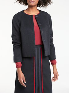 Read more about Boden sienna cropped jacket navy