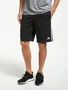 Read more about Adidas athletics essentials 3-stripes shorts black