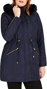 Read more about Studio 8 melanie parka coat navy