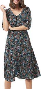 Read more about Sugarhill boutique alice floral midi dress teal multi