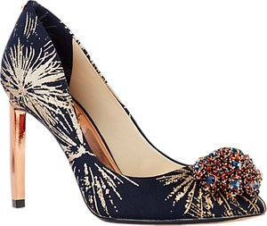 Read more about Ted baker peetch stardust court shoes multi