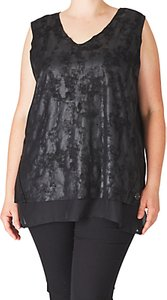 Read more about Adia faux suede blouse black