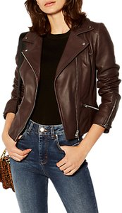 Read more about Karen millen the essentials leather biker jacket