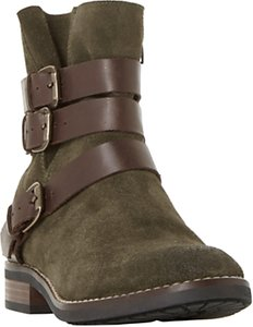 Read more about Bertie pennyford buckle ankle boots khaki