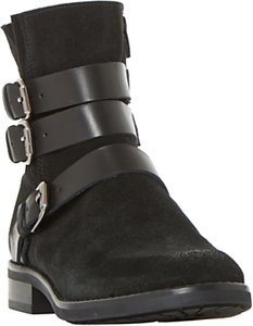 Read more about Bertie pennyford buckle ankle boots black