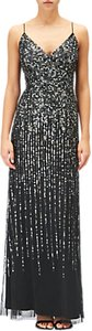 Read more about Adrianna papell sequin evening dress black