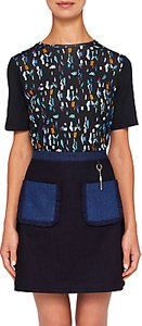Read more about Ted baker colour by numbers eudon lamp print relaxed t-shirt navy multi