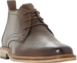 Read more about Dune malta lace up leather boots brown