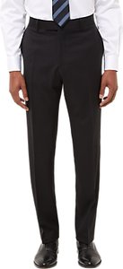 Read more about Jaeger wool twill regular fit suit trousers black