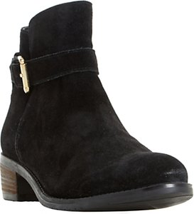 Read more about Dune pheobie block heeled ankle chelsea boots black