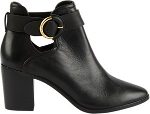 Read more about Ted baker sybell block heeled ankle boots black