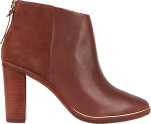Read more about Ted baker azaila block heeled ankle boots tan