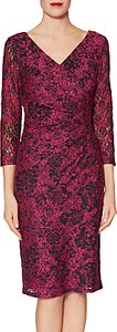 Read more about Gina bacconi keira lace dress cerise