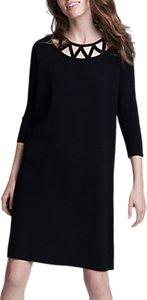 Read more about Winser london lattice shift dress black