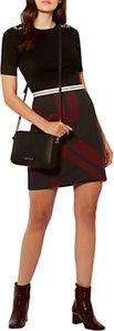 Read more about Karen millen mixed stripe skirt multi