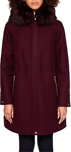 Read more about Ted baker kalissa wool blend hooded parka coat