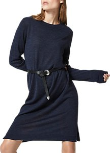 Read more about Selected femme eileen dress dark sapphire melange