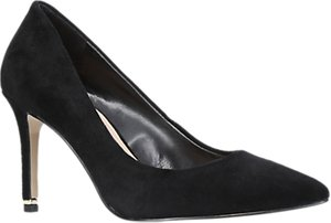 Read more about Carvela aruba stiletto heeled court shoes black