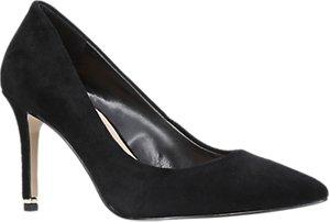 Read more about Carvela aruba stiletto heeled court shoes black