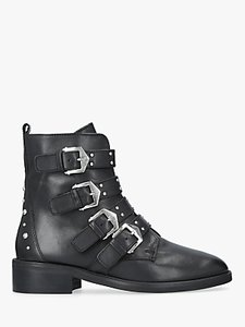Read more about Carvela scant buckle ankle boots black