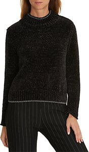 Read more about Betty co chenille ribbed jumper black