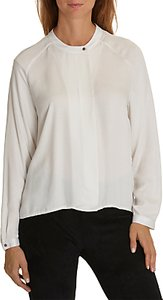 Read more about Betty co one button blouse white sand