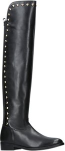 Read more about Kg by kurt geiger volt block heeled knee high boots black