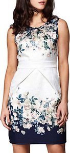 Read more about Yumi rose bouquet skater dress ivory