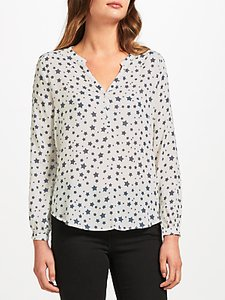 Read more about Pyrus lizzie silk blouse navy star salt