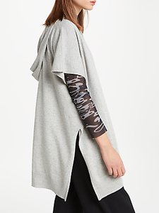 Read more about Patternity john lewis slouchy hooded jumper grey marl