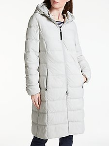 Read more about Gerry weber long hooded thinsulate jacket platinum