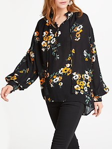 Read more about And or ivy floral print blouse black ochre