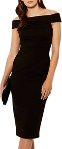 Read more about Karen millen bardot shoulder pencil dress black