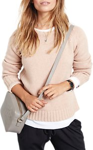 Read more about Hush wool cashmere crew neck jumper rose dust marl