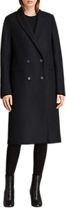 Read more about Allsaints marr coat ink blue