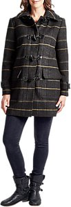 Read more about Four seasons check duffle coat grey