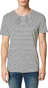 Read more about Selected homme bret short sleeved stripe t-shirt