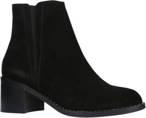Read more about Carvela steve block heeled ankle boots black suede