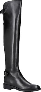 Read more about Carvela war over the knee boots black leather