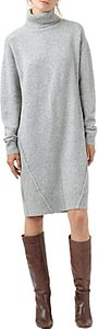 Read more about Finery burrell roll neck jumper dress grey