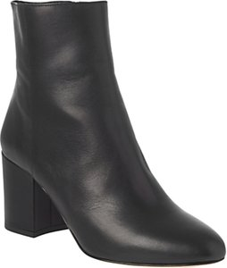 Read more about L k bennett jourdan block heeled ankle boots black leather