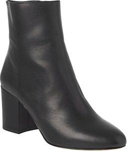 Read more about L k bennett jourdan block heeled ankle boots black leather