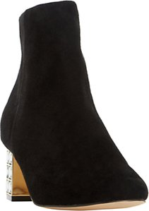 Read more about Dune onyxx embellished stiletto heeled ankle boots black