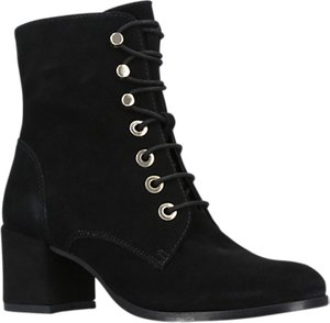 Read more about Carvela slept lace up ankle boots black suede