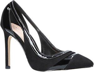 Read more about Carvela krest cut out stiletto heeled court shoes black