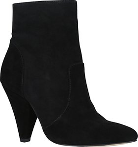 Read more about Kg by kurt geiger skylife cone heeled ankle boots black suede