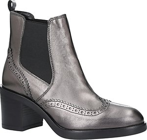 Read more about Carvela slow down block heeled ankle boots gunmetal