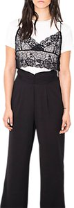 Read more about Wild pony high waisted trousers black